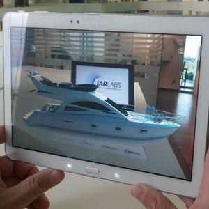 Esta app le permite ver en realidad aumentada e interactuar con catálogos y anuncios impresos