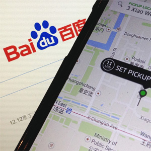"""El gigante chino Baidu se sube al """"taxi"""" de Uber"""