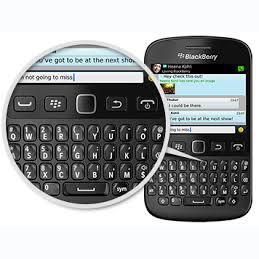 BlackBerry trae de vuelta el teclado físico