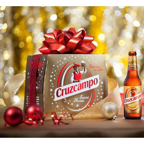 Cruzcampo, una cerveza especial para brindar por la Navidad en toda Andalucía