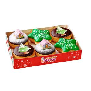 Dunkin' Cofee presenta su colección Especial Navidad