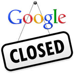 google cierre