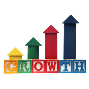 growth crecimiento aumento
