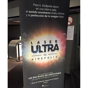 Kinépolis lanza KINÉPOLIS LÁSER ULTRA, la primera sala del mundo con proyección láser y Dolby Armos #ultrakinepolis
