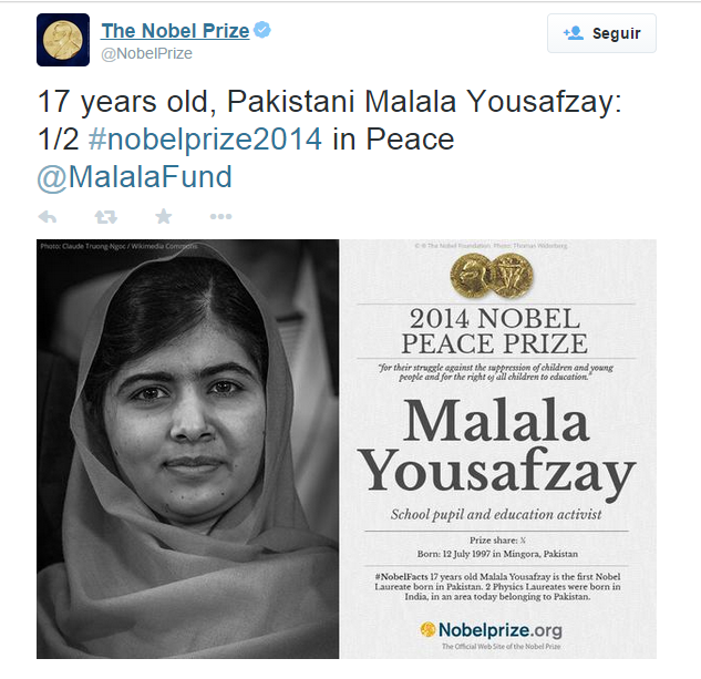 malala premio nobel