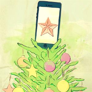 Las compras a través de dispositivos móviles pegaron un brinco del 20% el día de Navidad
