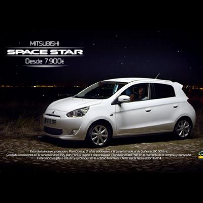 Peanuts&Monkeys lanza el nuevo Mitsubishi Space Star