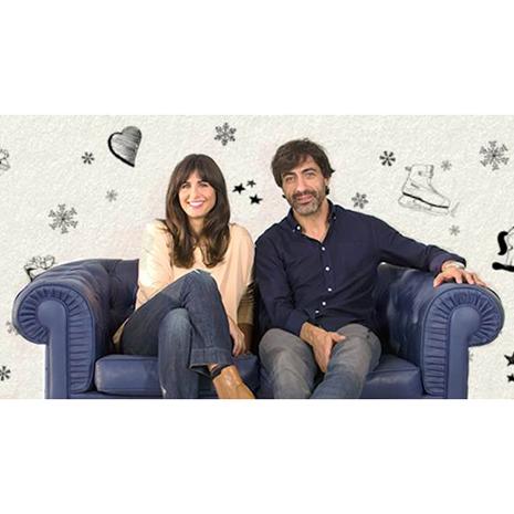 Nuria Roca y Juan del Val protagonizan la campaña de Navidad #RegalaTiempo de PayPal