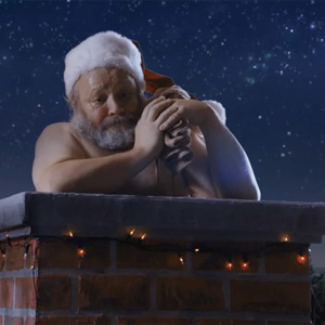 Sweaty Santa