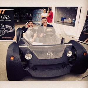 Strati, el primer coche creado por impresión 3D, a punto de salir al mercado