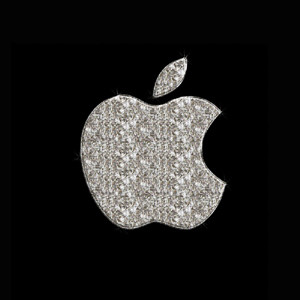 Apple diamond diamante luxury lujo