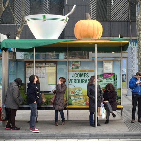 Knorr se lanza a la calle con su nueva campaña