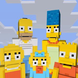 Los Simpsons Minecraft xbox microsoft