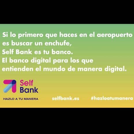 """""""Bienvenido a la era del Self"""", campaña de reposicionamiento de Self Bank y la agencia Remo"""