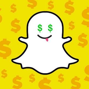 Snapchat money dinero anuncios publicidad advertising
