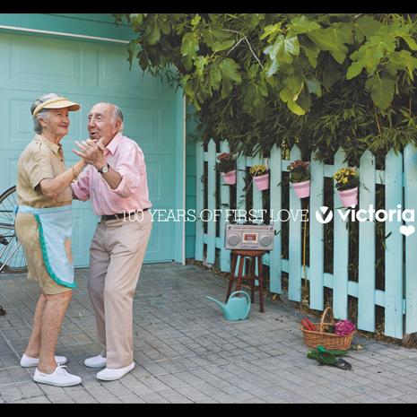 Sra. Rushmore crea una campaña para Victoria con motivo del centenario de la marca