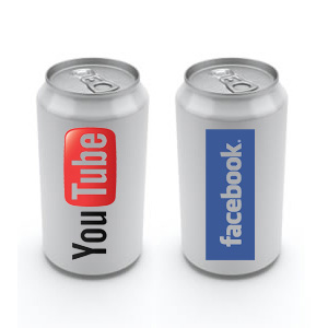 Facebook y YouTube