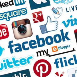 redes sociales logos