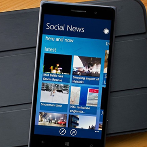 social news windows phone
