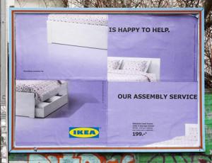 Si los muebles de IKEA son como un rompecabezas, su nueva campaña también lo es