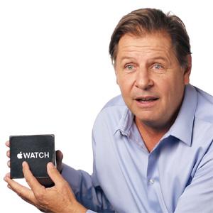 Llamar iWatch al esperadísimo Apple Watch podría costarle la vida, según esta descacharrante parodia