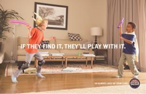 Esconder lo que no queramos que nuestros hijos encuentren es la idea de esta genial campaña