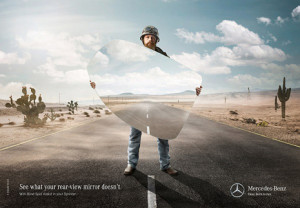 Eliminar los puntos ciegos de los Mercedes-Benz para salvar las vidas de los motoristas
