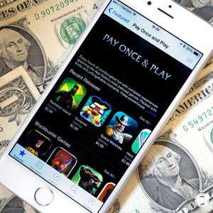 Una nueva sección de la App Store promociona las aplicaciones de juegos libres de compras y