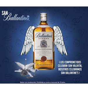 Llega a Madrid San Ballantine's, la primera fiesta en honor al patrón de los buenos amigos