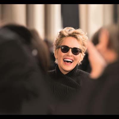Sharon Stone protagoniza la nueva campaña publicitaria de Alain Afflelou