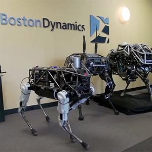 Google añade un terrorífico perro a su familia de robots