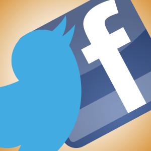 Twitter-Facebook logo