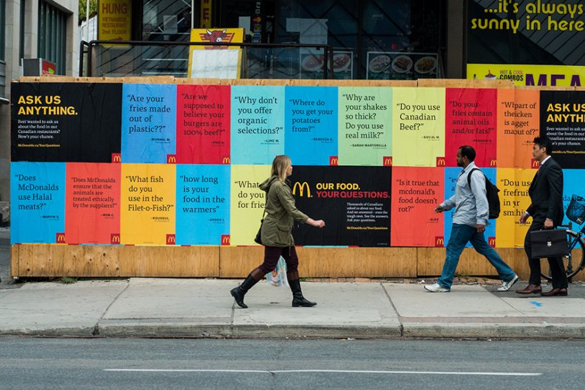McDonald's responde a cualquier pregunta de los usuarios en las redes sociales... excepto a una