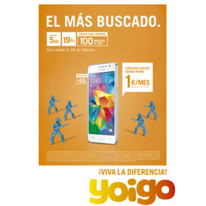 ¡Viva la diferencia! Nueva campaña para la tarifa La del Cero 5GB, tarifa de Yoigo