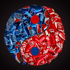 coca cola pepsi yin
