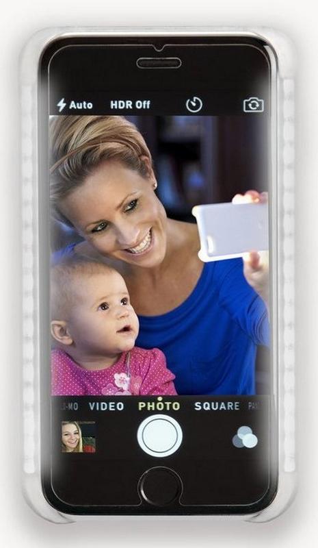 gadget luz selfies