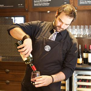 Starbucks opens a newly remodeled store that sell beer and wine to counter sagging business in the evening hours.