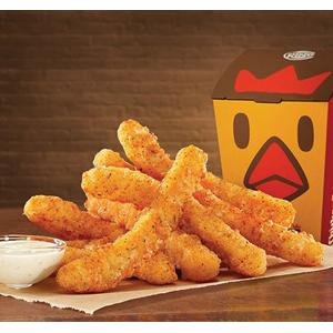 Trabajadores de las oficinas de Burger King se trasladan a los restaurantes para presentar las Chicken Fries