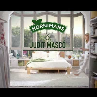 Hornimans renueva su comunicación con la incorporación de  Judit Mascó como nueva embajadora de la marca