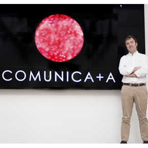 Comunica+A incorpora a Javier Alvira como nuevo director de servicios al cliente