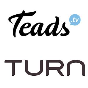 El SSP de video de Teads se conecta con la tecnología de Turn a nivel internacional