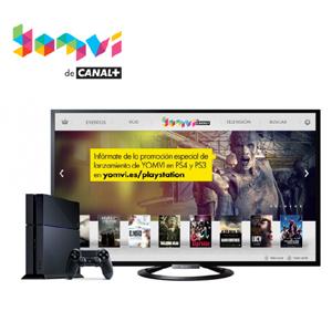 PlayStation y Canal+ lanzan la app de Yomvi para PS4 y PS3