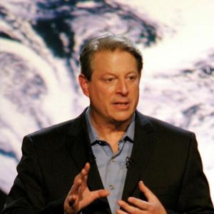 Al Gore in Davis Guggenheim's documentary An Inconvenient Truth.
