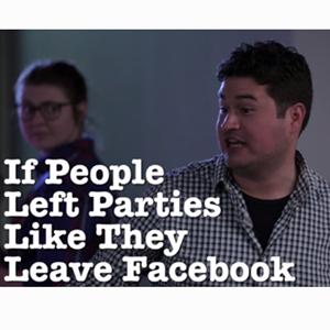 ¿Y si la gente se fuese de las fiestas como se va de Facebook?