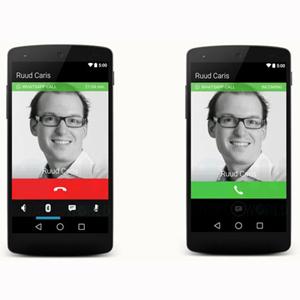 ¿Quiere llamar con WhatsApp? Actualice su versión