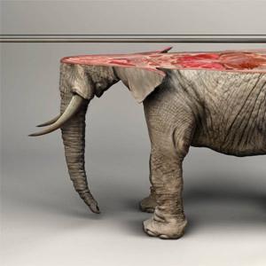 Esta potente campaña visual deja claro que los animales impresos en 3D no tienen vida