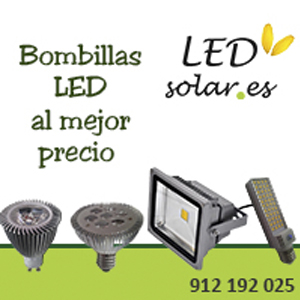 BOMBILLAS LED SOLAR