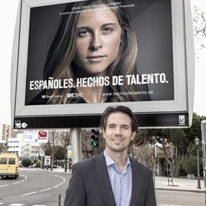 """""""El talento español es altamente valorado fuera de nuestras fronteras"""", Fran López (Clear Channel)"""