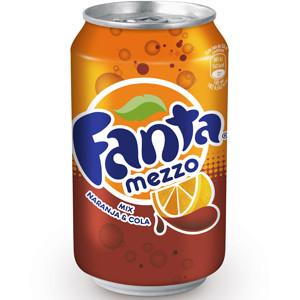 Fanta Mezzo: el sabor naranja y el sabor cola pasan por el altar
