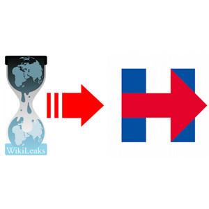 El logo de la campaña de Hillary Clinton es objeto del escarnio en la red: 6 parecidos